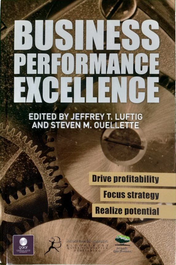 Business Performance Excellence now available in Kindle!